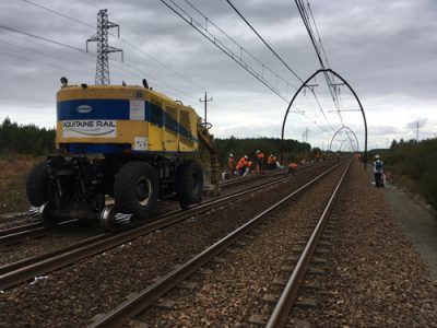 Ligne Bdx-Irun – Aquitaine Rail