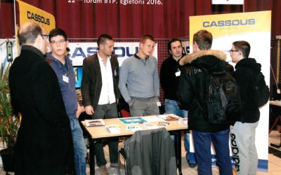 Forum pour l'emploi des TP et du génie Civil  à Egletons