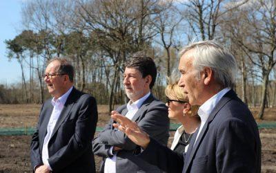 Visite officielle de Vert Castel 2 à Mérignac