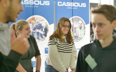 Le Groupe Cassous présent à la 2ème édition du Forum des Métiers des Jeunes Mérignacais