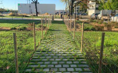Technivert, réalise le Square Allende à Floirac en Gironde